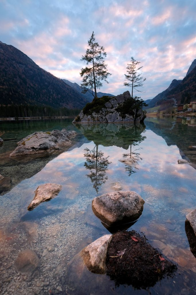 Lake Hintersee Reflection