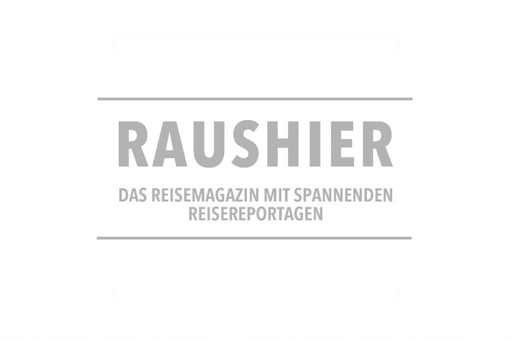 Raushier Reisemagazin Logo