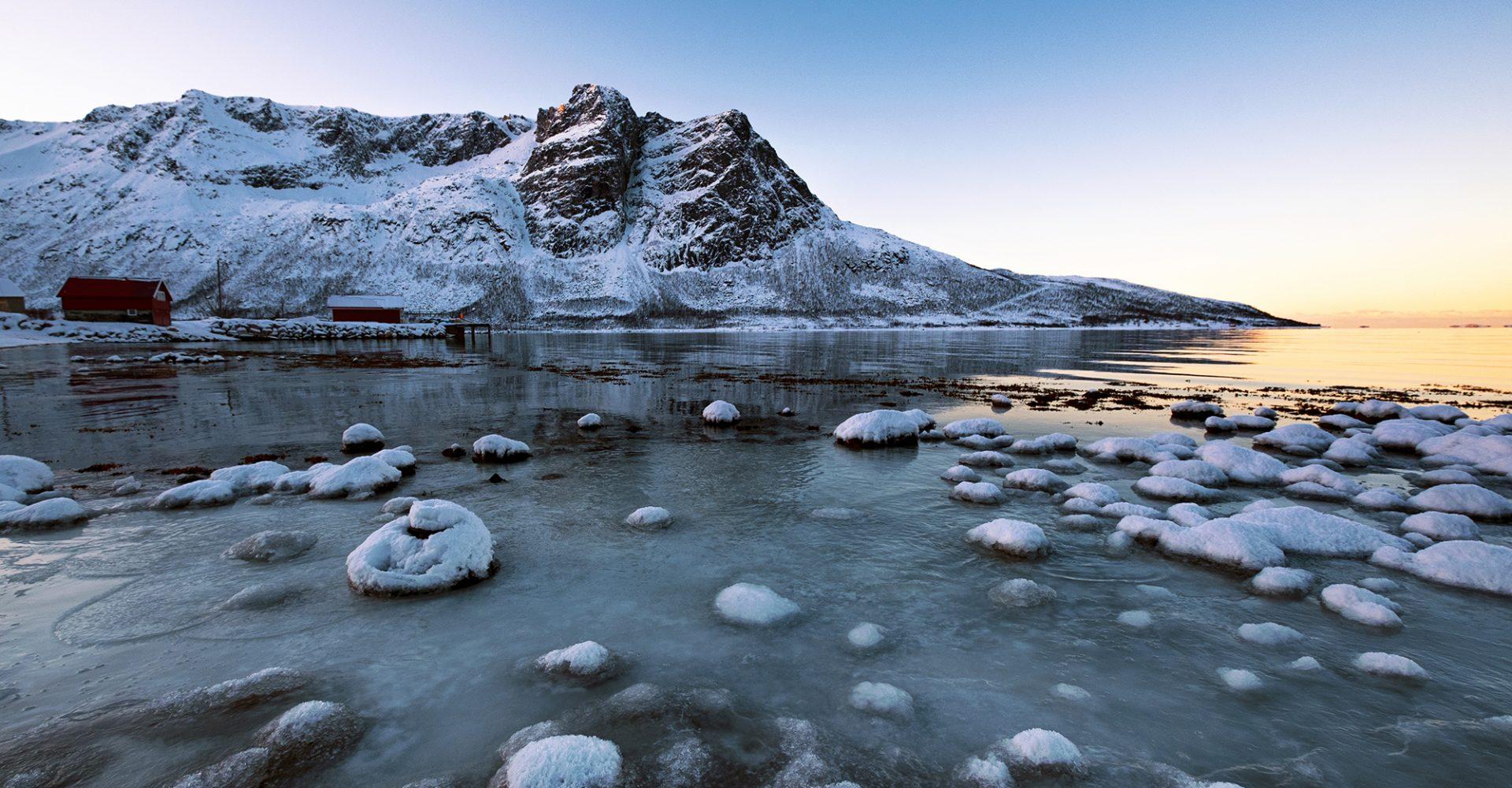 Arctic Fjords in Kvaloya