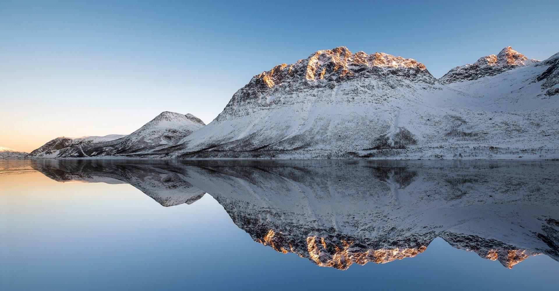 Mountain Reflection Norway